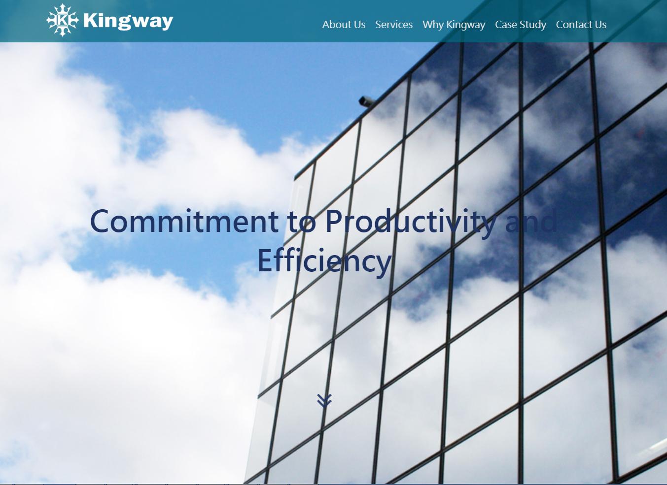Kingway L.L.C. – RWD英文形象網站